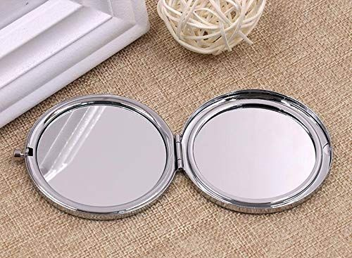 DIDADIC Travel Makeup Mirror for Wife, Wife Birthday Gift Ideas, Wife Gifts for Wedding Anniversary Valentines Day Mothers Day, Romantic Gift for Her