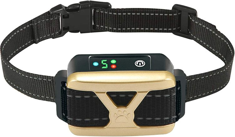 ZNFSZ Bark Collar for Dogs,Dog Bark Collar, Rechargeable Anti Barking Training Collar with 5 Adjustable Sensitivity and Intensity Beep Vibration for Small Medium Large Dogs