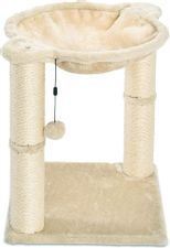 Basics Cat Condo Tree Tower with Hammock Bed and Scratching Post