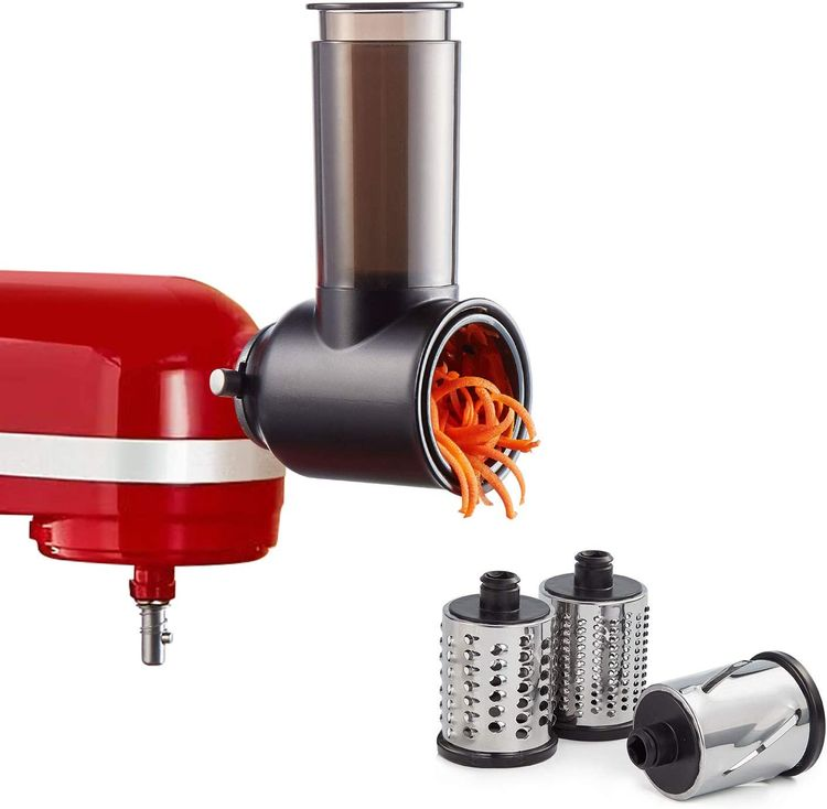 Slicer Shredder Attachments for KitchenAid Stand Mixer,Cheese Grater Attachment as Kitchenaid Attachments for Mixer by InnoMoon