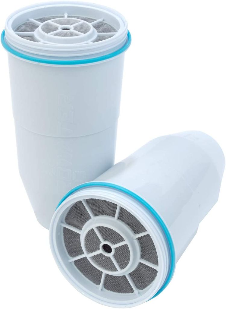 ZeroWater 5-Stage Replacement Filter, 2-Pack, White