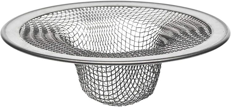 Danco 88822 4-1/2-Inch Kitchen Mesh Strainer, Stainless Steel, Limited Edition