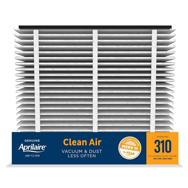 Aprilaire 310 Replacement Furnace Air Filter for Aprilaire Whole Home Air Purifiers, MERV 11, Clean Air Dust Furnace Filter (Pack of 1)