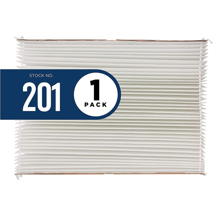 Aprilaire - 201 A1 201 Replacement Filter for Whole House Air Purifier Models: 2200, 2250, Space Gard 2200, MERV 10 (Pack of 1)