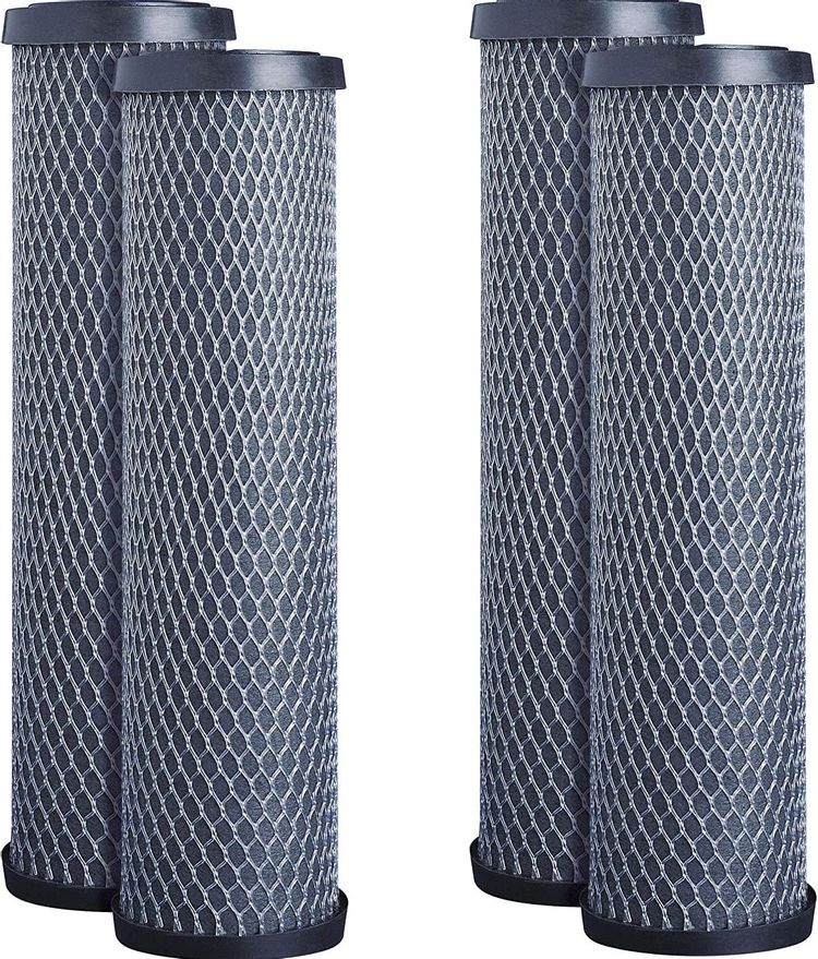 GE FXWTC Whole Home System Replacement Filter Set (2 X Pack of 2)