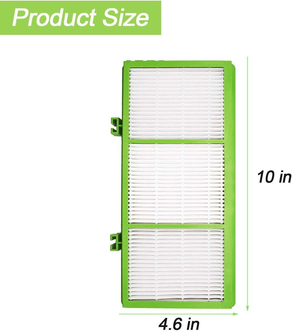 Colorfullife 4 True HEPA + 8 Pre Filter Compatible With Holmes AER1 Allergen Remover Filter, Replacement Parts # HAPF300AH-U4R , HAP242-NUC