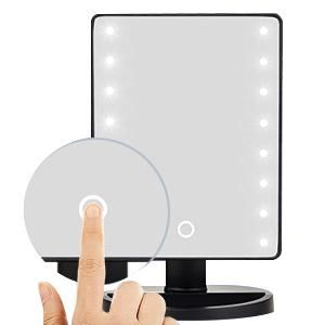 lighted makeup mirror with lights