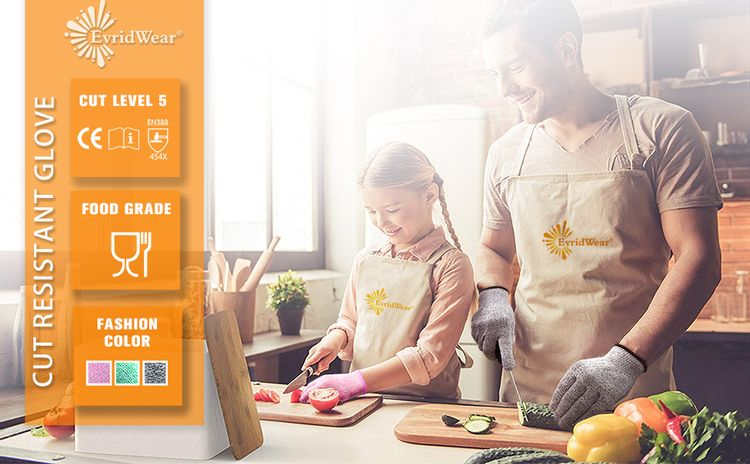 Cut, resistant, safe, kitchen, chopping, slicing, protect, hand