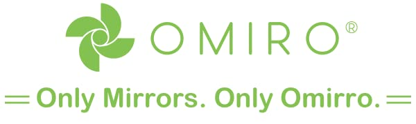 Only Mirrors. Only Omirro.