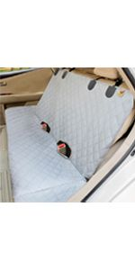 Dog Car Seat Cover with Free Dog Leash