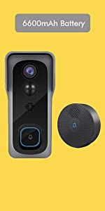 WiFi Video Doorbell Camera wifi cameras for home security home surveillance battery security outdoor