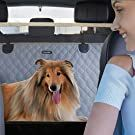 lassie dog car seat cover with mesh window