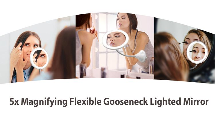 magnifying mirror suction cup