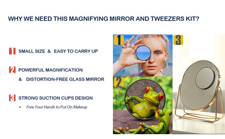 small size powerfull magnification strong suctions cups