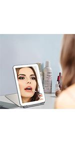 portable makeup mirror for travel