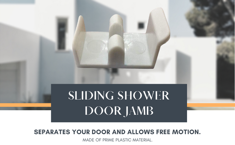 Shower Door Sliding jamb -  Perfect Gift and Present for Holidays