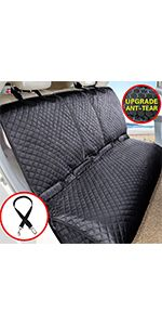bench car dog seat cover