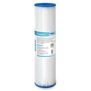 sediment water filter pleated