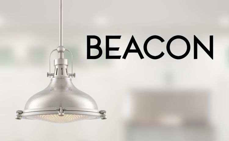 Beacon Family Lighting Collection Bedroom Breakfast Nook Kitchen Light Dining Table Brushed Finish