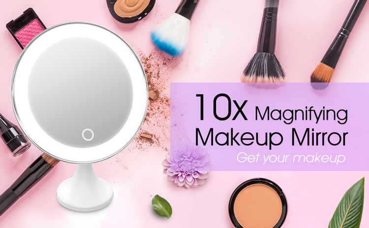 BEQOOL makeup mirror with led light