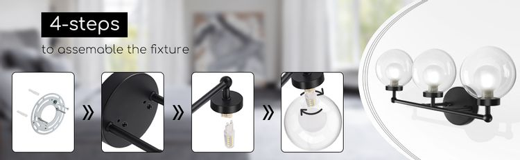 Wall Lamp Make-up Mirror Front Light