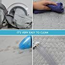 lassie dog car seat protector cover easy install & clean