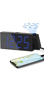 projection alarm clock projection clock alarm clock with projection on ceiling digital clock