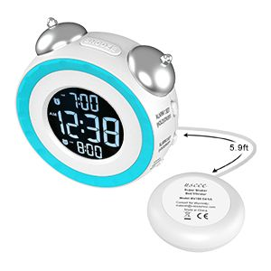 alarm clock with battery backup