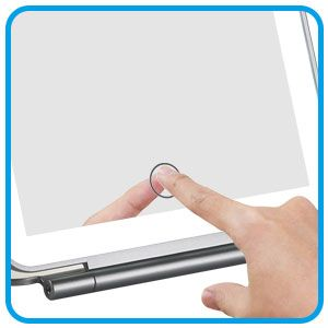 portable vanity mirror  have smart touch designn