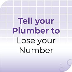 tell your plumber to lose your number
