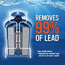 lead reduction filter;reduce lead;filtered water;clean drinking water;filtration system;for home