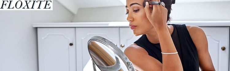 floxite;travel mirrors;hollywood mirrors;360;360 light;light up;mirror with stand;makeup mirror