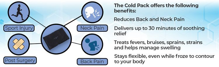 back support systems cold pack benefits back neck pain soothing relief fevers bruises aches